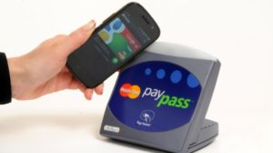Tap and pay smartphone
